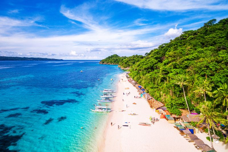 The Philippines is looking at closing one of its crown jewels, Boracay Island, for up to six months starting at the end of April. ― AFP pic
