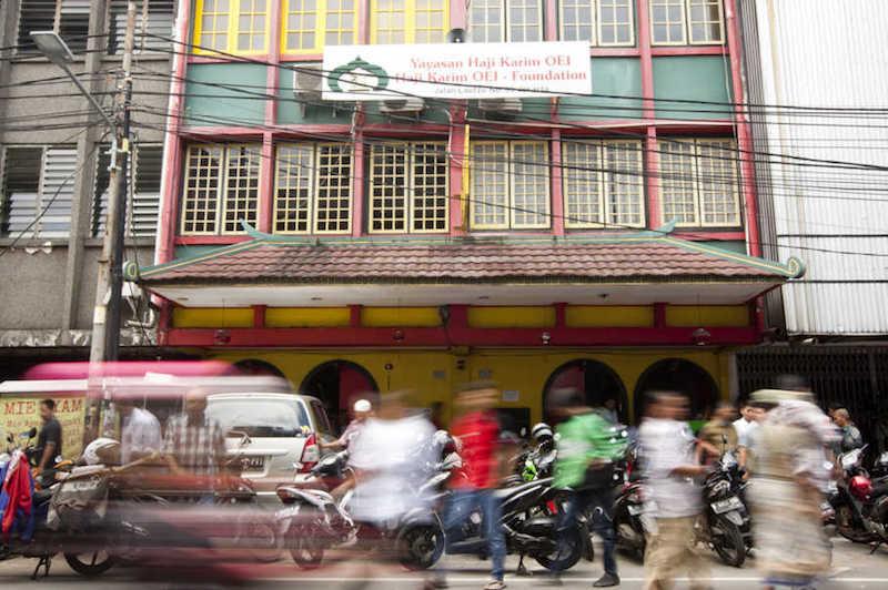No dome, tower or minaret: The Lautze Mosque in Jakarta's Chinatown. — Jakarta Globe