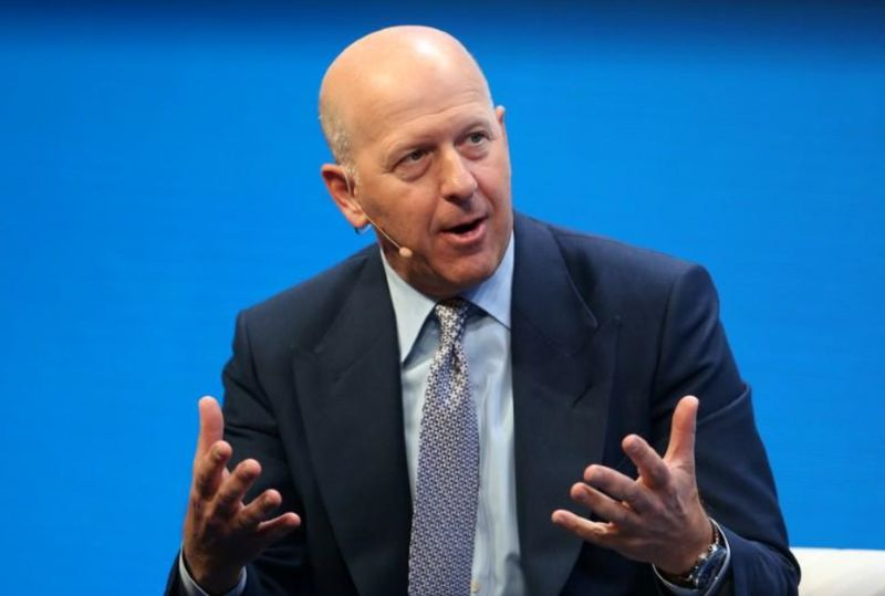 Goldman Sachs CEO David Solomon says the firm is trying to understand how it ended up 'hiring a criminal', referring to Tim Leissner who once headed its Asian investment banking business. ― Reuters pic