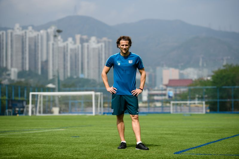 Forlan played for the likes of Manchester United, Villarreal, Atletico Madrid and Inter Milan before ending his career in Asia. — AFP pic