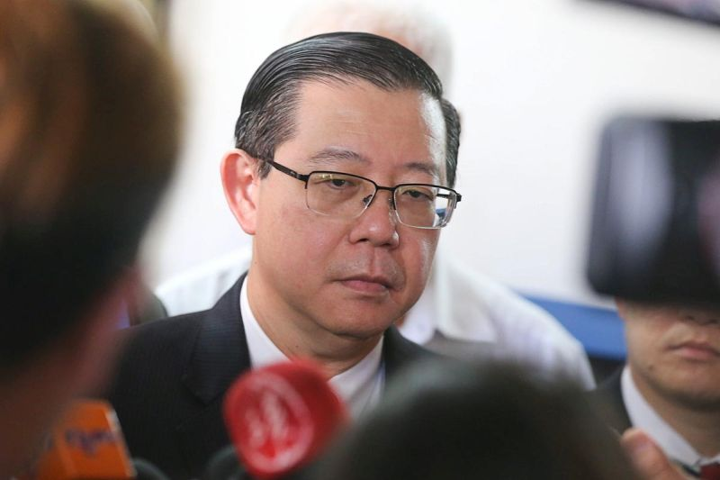 Lim said he will take action against those who have continued attacking him with false allegations. ― Picture by Sayuti Zainudin