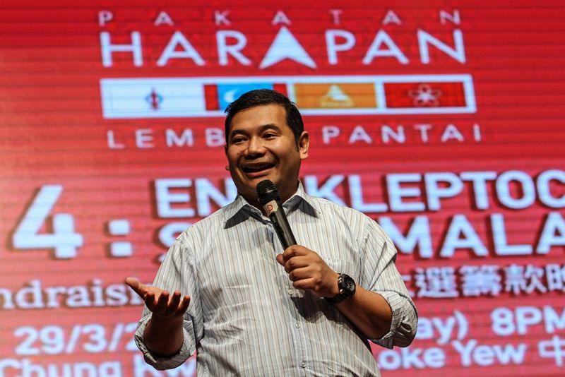 Rafizi said Invoke's mathematical modelling which predicted voters' voting inclination had 'correctly predicted most of the results'. ― Picture by Miera Zulyana