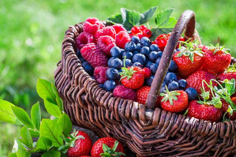 Including more flavonoid-rich foods in the diet, such as berries, could help stave off Alzheimer's disease, according to new research. — Shaiith/Istock.com pic via AFP