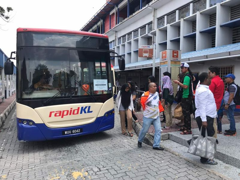 Prasarana Malaysia Bhd says all its rail and bus lines will follow existing schedules for now, as the nation begins a shutdown of all non-essential services that will last until March 31. — Picture courtesy of Prasarana Berhad