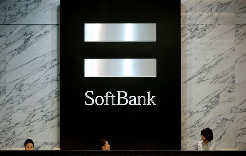 The logo of SoftBank Group Corp is seen at the company's headquarters in Tokyo, June 30, 2016. — Reuters pic