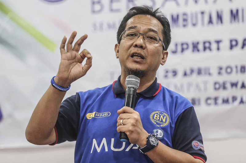 On March 13, 2019, the Kuala Lumpur High Court allowed Datuk Seri Razali Ibrahim's application to strike out the suit, ruling that the statement by Razali was not defamatory. — Picture by Firdaus Latif