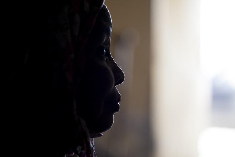 Souadou Isselmou poses for a photo in Nouakchott, Mauritania April 2, 2018. — Thomson Reuters Foundation pic