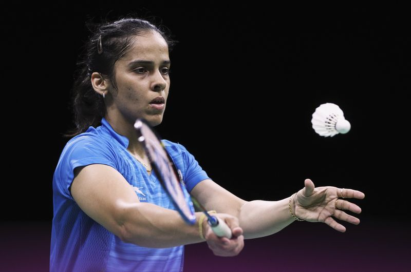Indian player Saina Nehwal tested positive for Covid-19 yesterday. ― Reuters pic
