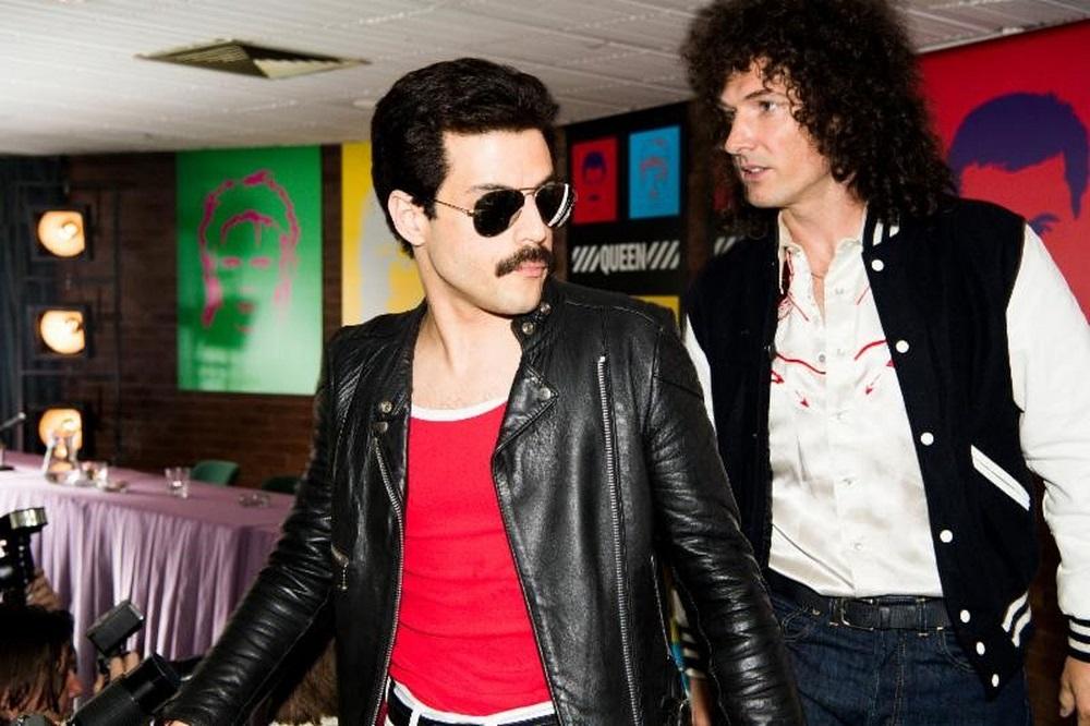 Rami Malek as Freddie Mercury in 'Bohemian Rhapsody'. — AFP pic