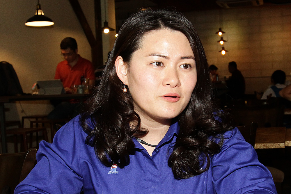 MCA spokesperson Chan Quin Er said it is the party's view that the congress was aimed at addressing education issues, and did not involve anything in relation to racial or religious issues. — Picture by Miera Zulyana