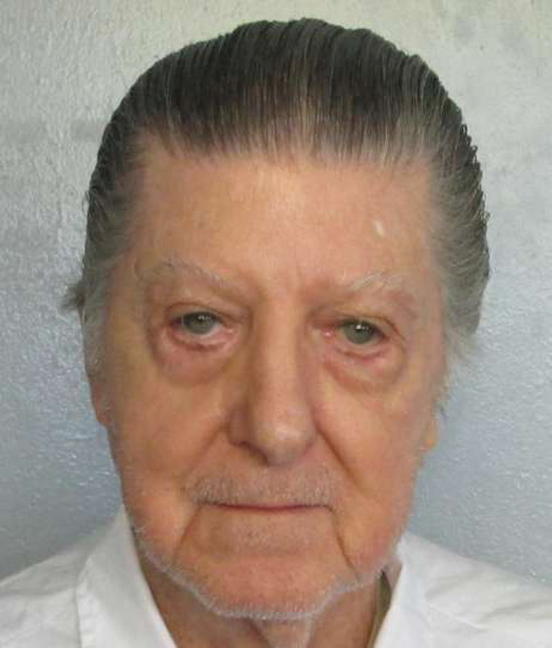 Death row inmate Walter Moody, scheduled to be executed in Atmore, Alabama April 19, 2018 is seen in this undated Alabama Department of Corrections photo. — Reuters pic