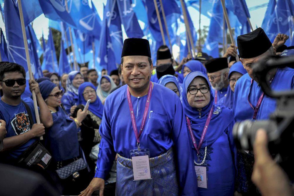 Ismail mengatakan bahawa akar umbi Umno di Pagoh tidak mahu bekerjasama dengan Parti Pribumi Bersatu Malaysia.  - Gambar oleh Firdaus Latif