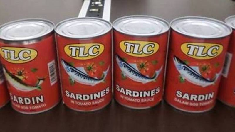 Recently, MOH instructed manufacturers of eight sardine brands of Cinta, TL Tan Lung, TLC, Sea Fresh, HS Brand, King Cup, Bintang and TC Boy to be withdrawn from the market.