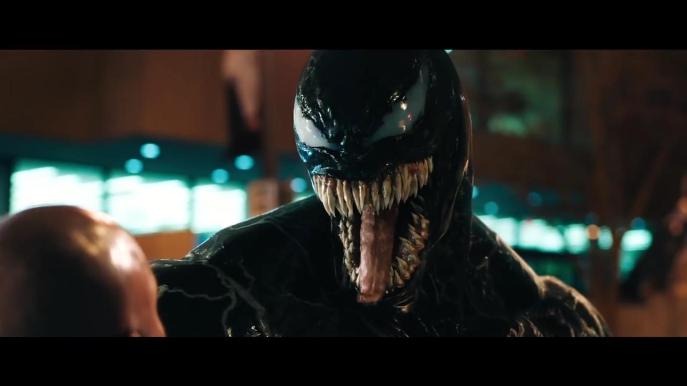 A screengrab from 'Venom', starring versatile 'The Dark Knight Rises' actor Tom Hardy, made US$856 million (RM3.59 billion) on a US$100 million budget.