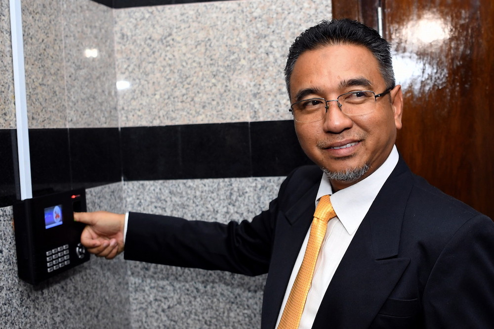 Adly Zahari was appointed Melaka chief minister on May 11, 2018, and resigned on March 2 this year, after 21 months in office. — Bernama pic