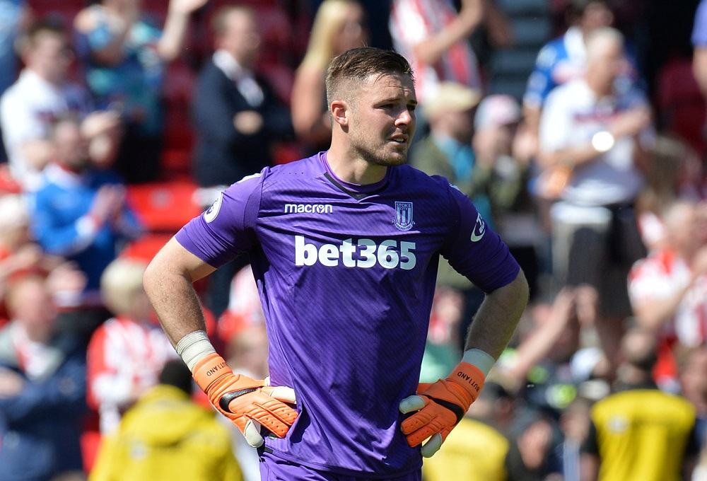 England international goalkeeper Jack Butland has joined Crystal Palace on a three-year deal. — Reuters pic