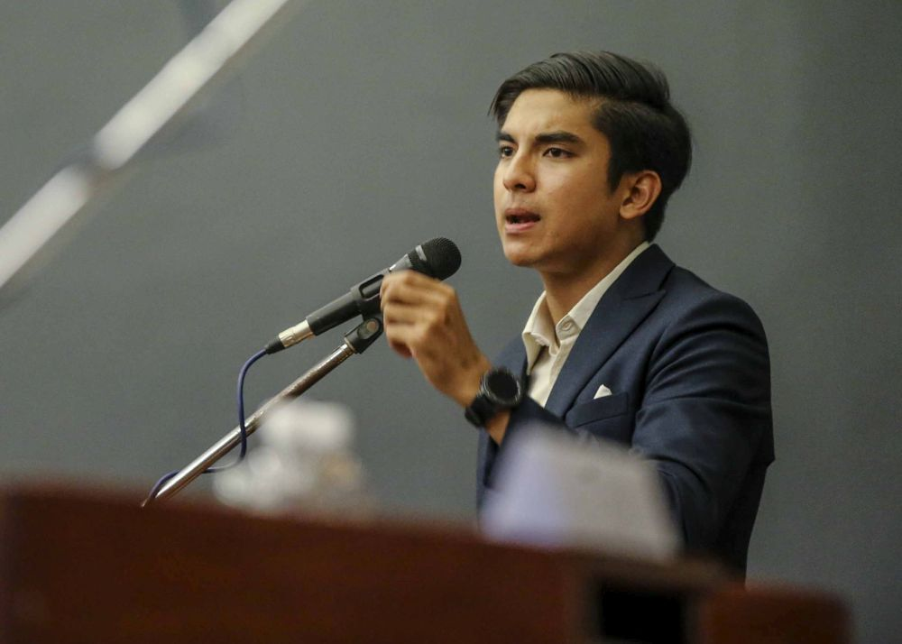 Syed Saddiq Syed Abdul Rahman said Malaysian youths must be given the space and opportunity to become leaders now, and not just the future. — Photo by Mohd Firdaus Abdul Latif