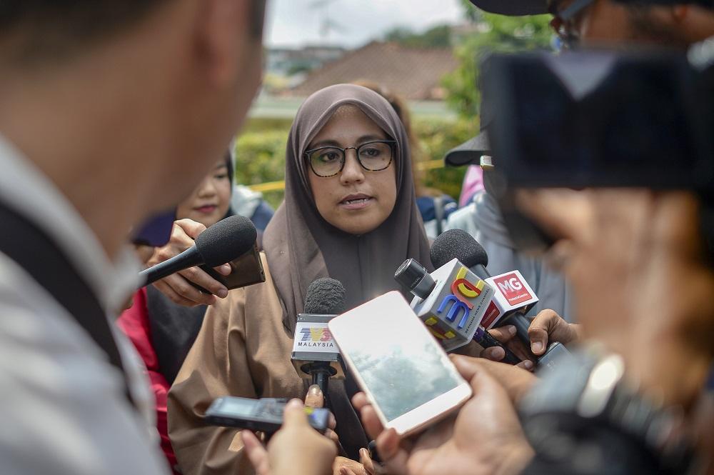 Datuk Mas Ermieyati Samsudin Datuk Mas Ermieyati Samsudin said, in July the government had approved an allocation of RM100 million to Tekun Nasional . — Picture by Mukhriz Hazim