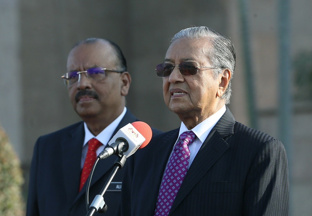 Tun Dr Mahathir Mohamad has a lot to get done before he potentially hands over the reins in a year or two. ― Bernama pic