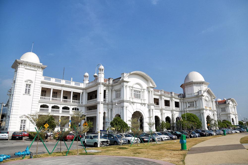Ipoh's iconic railway station.