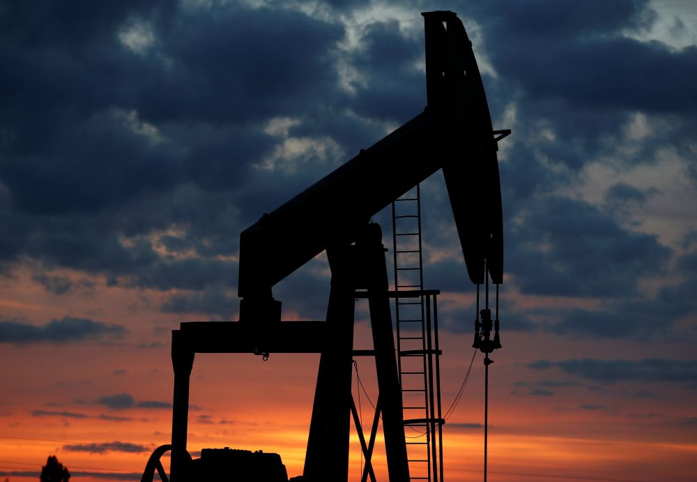 Oil prices fell as much as 4 per cent, extending last week's steep losses on a rising US dollar and concerns that new coronavirus-related restrictions in Asia, especially China, could slow a global recovery in fuel demand. ― Reuters pic