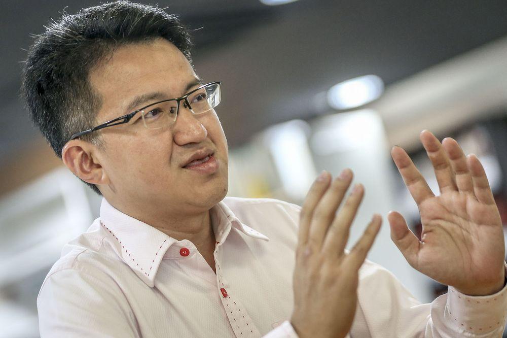 Johor DAP Chairman, Liew Chin Tong. — Picture by Hari Anggara