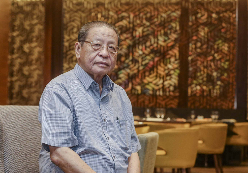 Lim Kit Siang said Covid-19 was confirmed to have reached Turkey on March 11 the same day WHO declared it as a pandemic. — Picture by Firdaus Latif