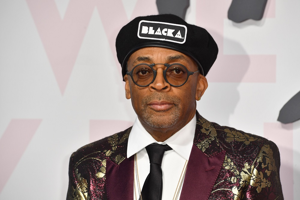 US director Spike Lee was among those presenting honours to pandemic-era student filmmakers. — AFP pic