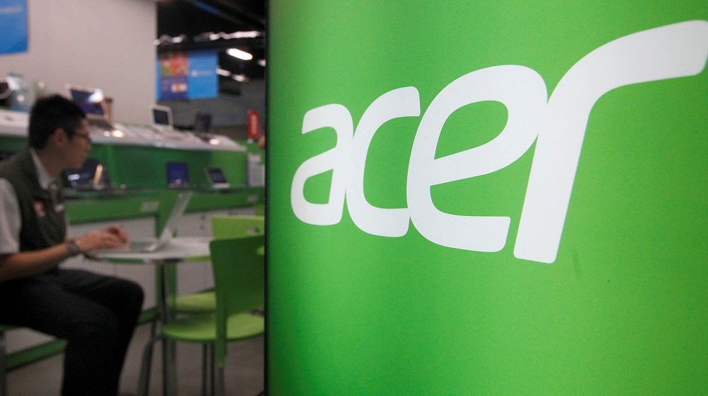 Driven by huge orders and strong demand, Acer expects revenue growth for the pan Asia-Pacific (PAP) region to improve in the fourth quarter. — Reuters pic
