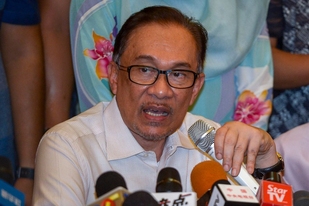 Datuk Seri Anwar Ibrahim said Malaysia must assure the nation's largest racial group that its security would be upheld. — Picture by Mukhriz Hazim
