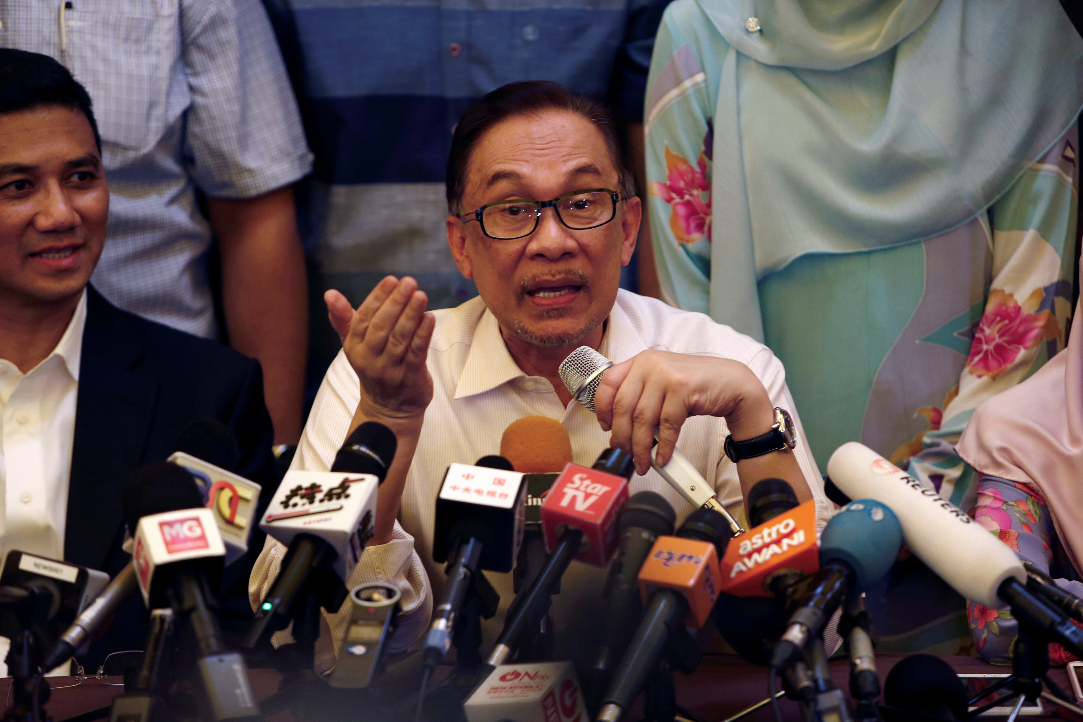 Anwar said if the prime minister was in agreement someone else could be appointed to oversee Islamic issues only.