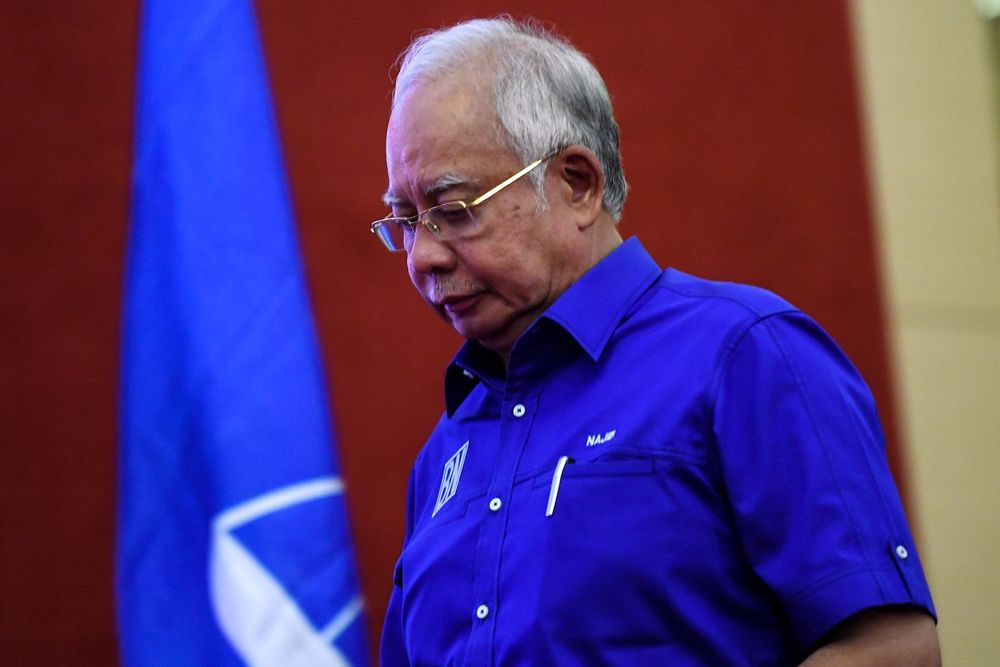 The Barisan Nasional chaired by Datuk Seri Najib Razak has won its lowest-ever share of the popular vote in GE14, with observers noting that the coalition was rejected by voters of all races. — Bernama pic