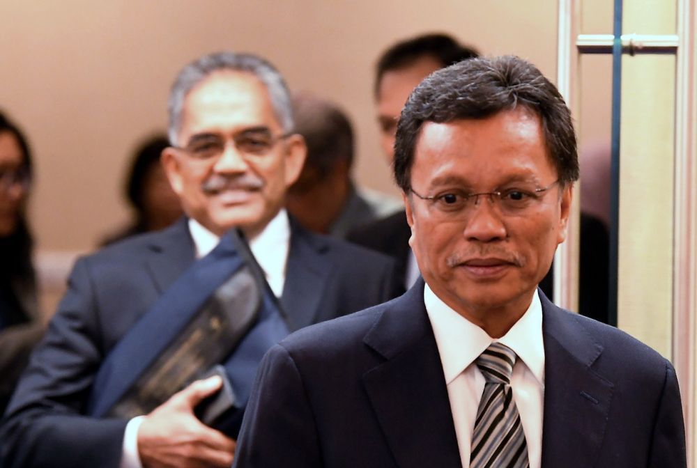 Chief Minister Datuk Seri Mohd Shafie Apdal said so far, the state government had not received any information on the Sabahans arrested in Cambodia. ― Bernama pic