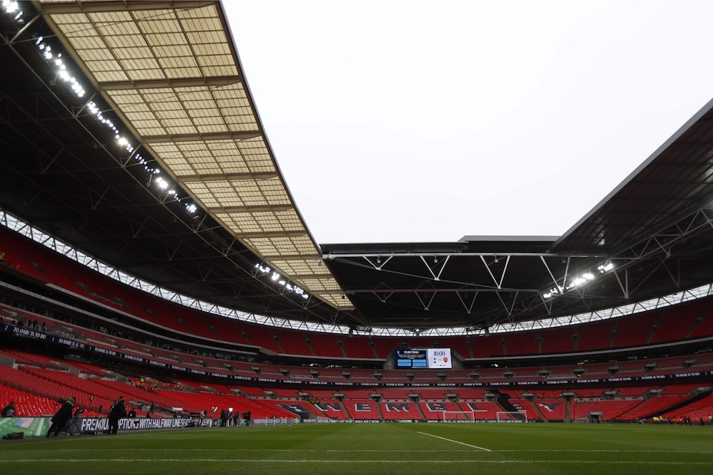 City and Tottenham will each be given 2,000 tickets for the game at Wembley, which is being used as a test event for the return of fans to stadiums. — AFP pic