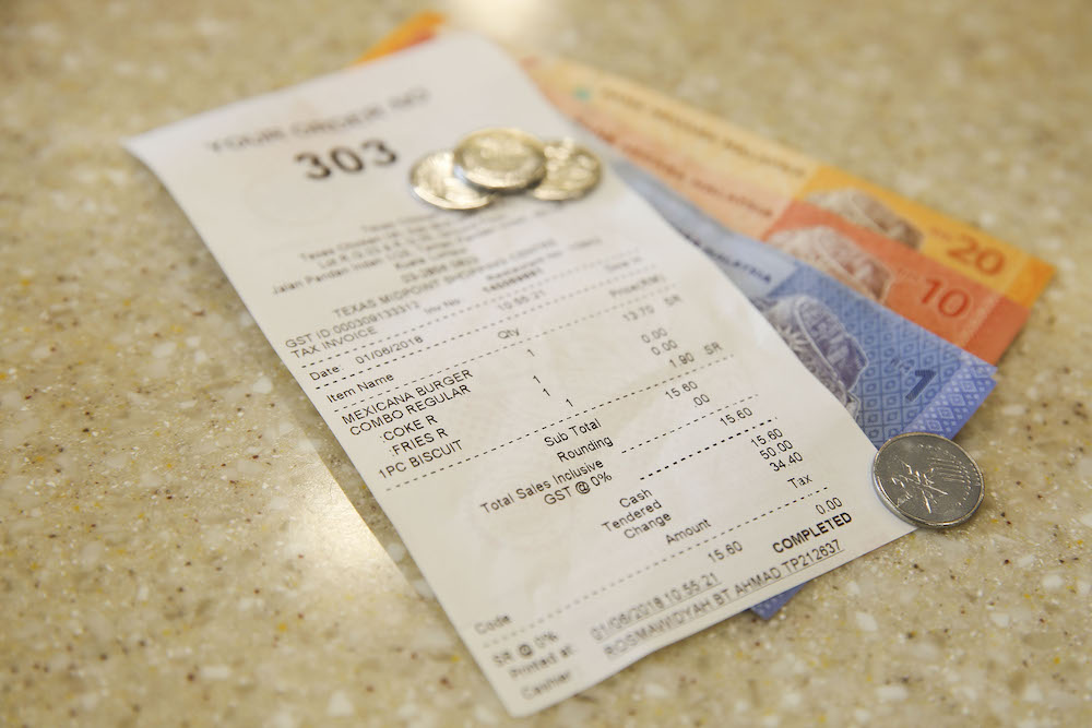 The service charge is normally imposed at a rate of 10 per cent in place of a tipping system. — Picture by Yusof Mat Isa