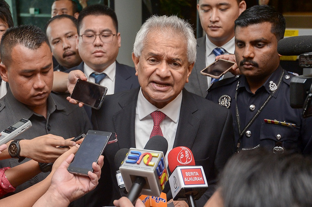 Thomas had been criticised by certain parties, including the Malaysian Islamic Organisation Consultative Council (Mapim) and PAS for his poor command of the national language. — Picture by Mukhriz Hazim