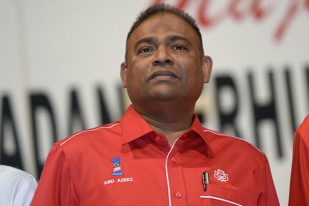 Abdul Azeez resigned in late May as Lembaga Tabung Haji chairman. — Picture by Mukhriz Hazim