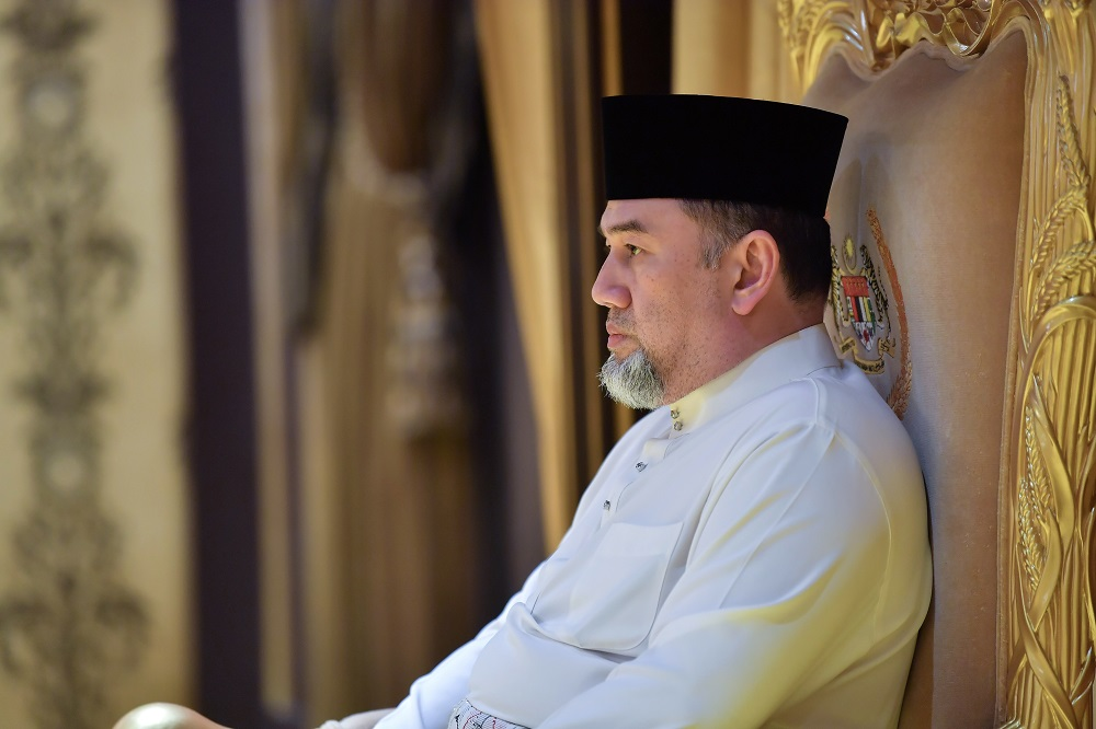 The trio had reportedly published posts deemed as insulting to Sultan Muhammad V after the Kelantan Ruler abdicated as the 15th Yang di-Pertuan Agong on Sunday. — Bernama pic