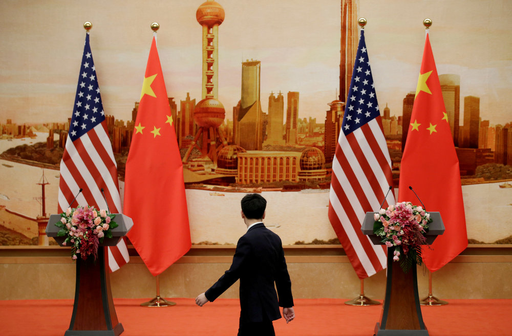 After President Donald Trump's administration imposed additional tariffs on Chinese goods and curbs on Huawei Technologies Co last year, China vowed to draw up a list aimed at punishing foreign firms deemed harmful to Chinese interests. — Reuters pic
