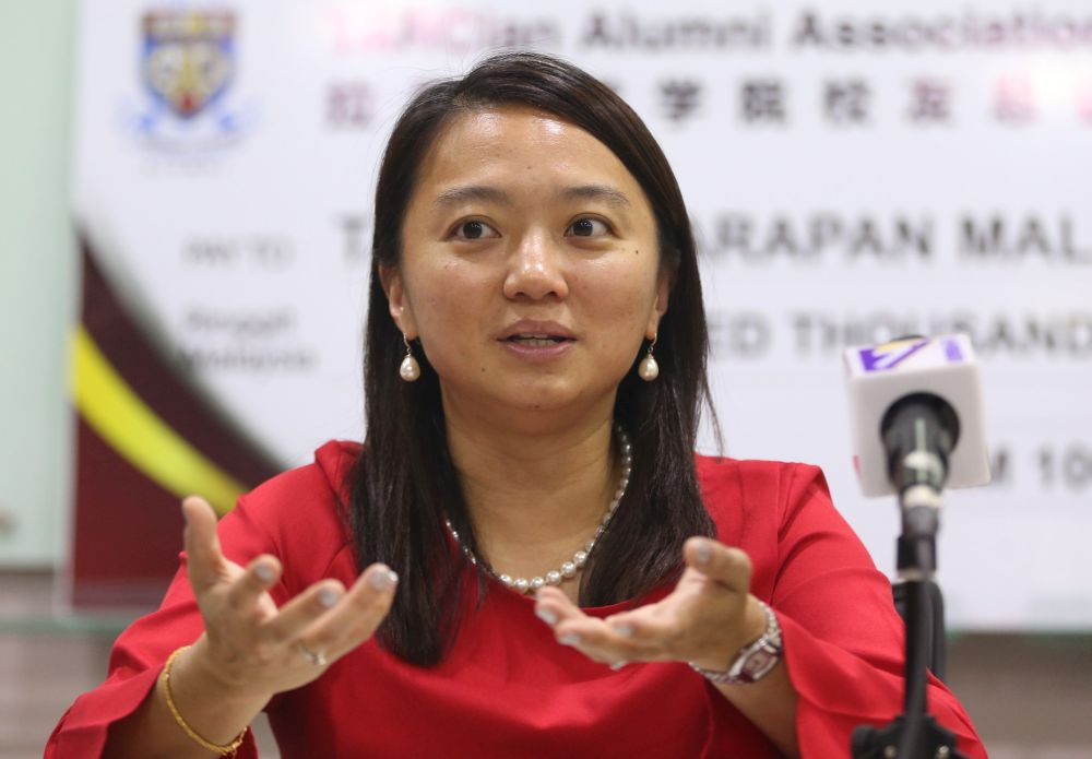 Deputy minister Hannah Yeoh said the Welfare Department (JKM) will consider parents' requests to create autism sub-categories in the Disabled People's (OKU) card to enable them to access more specific services. — Picture by Razak Ghazali