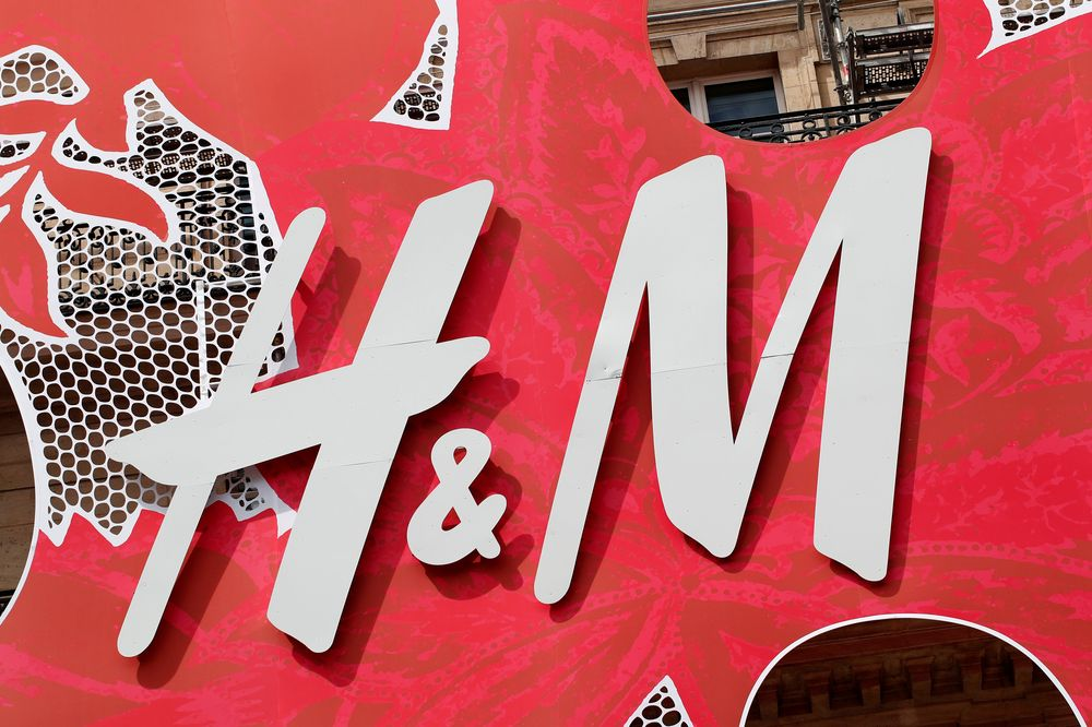 A Hennes & Mauritz AB (H&M) logo covers the facade of its flagship store in Paris, France, June 18, 2018. — Reuters pic