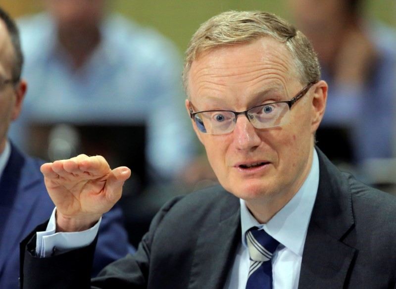 RBA governor Philip Lowe said in a speech in Sydney the country's national output would fall by around 10 per cent in the first half of 2020, with most of this decline taking place in the June quarter. — Reuters pic