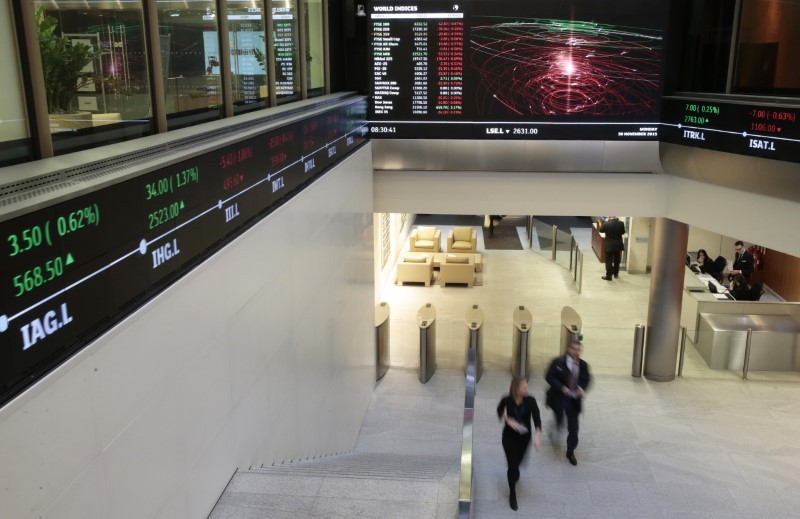 The benchmark FTSE 100 index climbed 0.5 per cent, with British Land and Land Securities being the top gainers, up between 3 per cent and 4.7 per cent after JP Morgan raised its price target on both the stocks on expectations of higher footfalls once the economy reopens. — Reuters pic