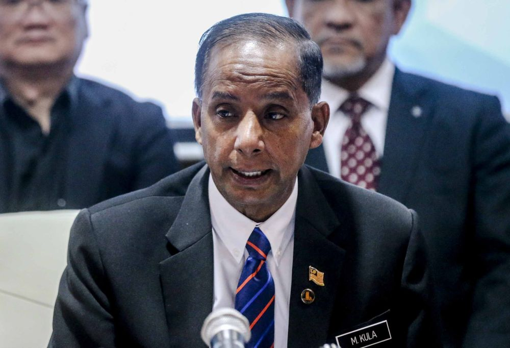 Human Resources Minister M. Kulasegaran said a large sum of money from the HRDF Consolidated Fund had been misappropriated by some members of the previous management. ― Picture by Firdaus Latif