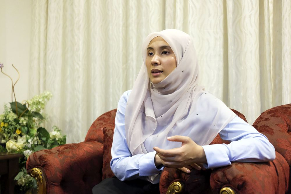 Nurul Izzah said that Putrajaya needs to go back to the drawing board and fine-tune the idea before making any concrete decisions. — Picture by Yusof Mat Isa