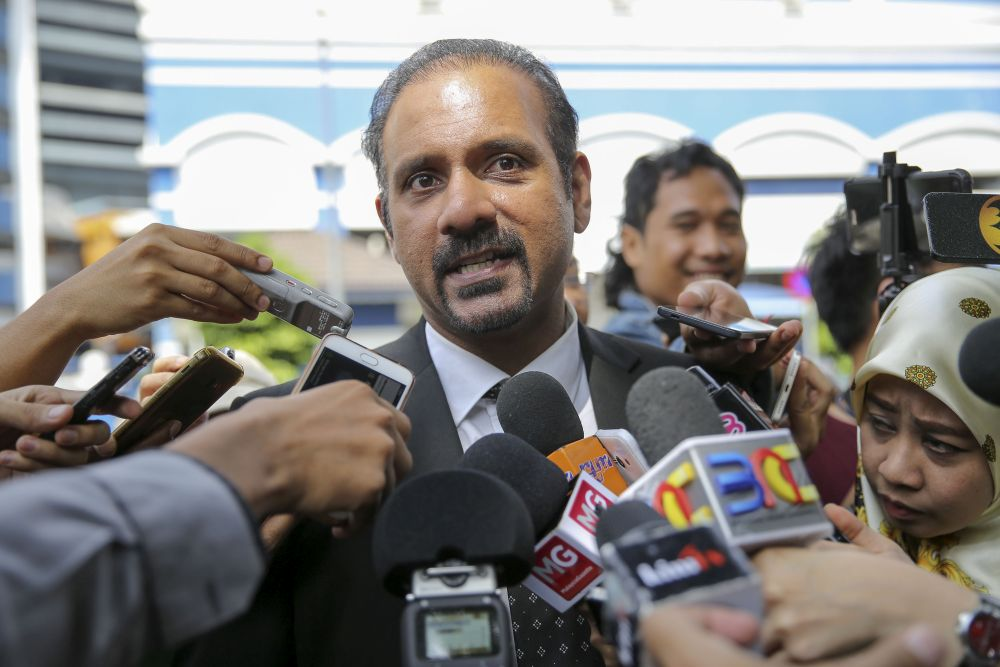 Ramkarpal said BFM must take the necessary steps to reveal the outcome and evidence gathered from the said internal investigations to the police for necessary action to be taken. — Picture by Yusof Mat Isa