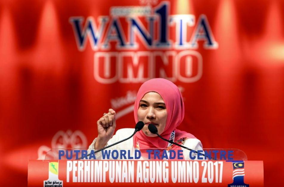 Puteri Umno chief Datuk Zahida Zarik Khan believes that in the digital era, social media is the way forward for Umno. — Bernama pic