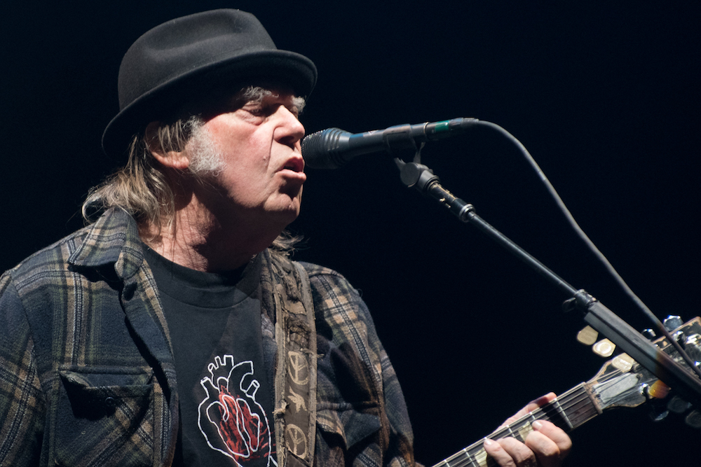 Neil Young said he has complained about Trump's use of his songs since 2015, and that the campaign has 'willfully' ignored him despite lacking a licence. — AFP pic