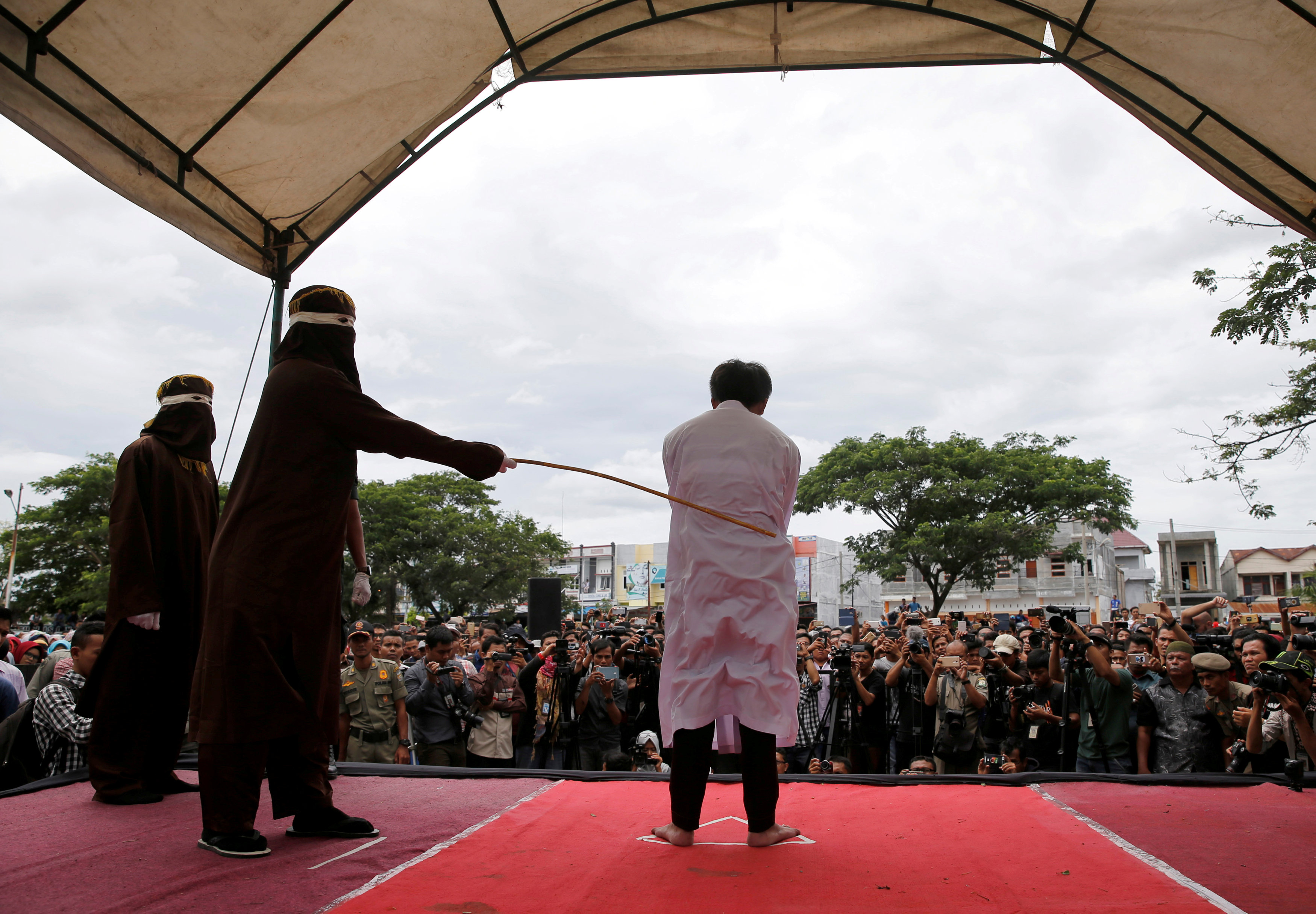 Aceh is the only province in the world's most populous Muslim-majority country that imposes Islamic law. — Reuters pic