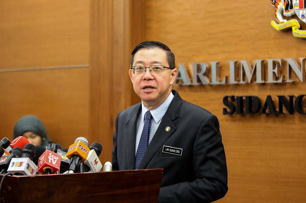 Lim Guan Eng expects to reveal more scandals 'in the billion-dollar range' during his tenure, with at least one more announced within the government's first 100 days in power. — Picture by Ahmad Zamzahuri